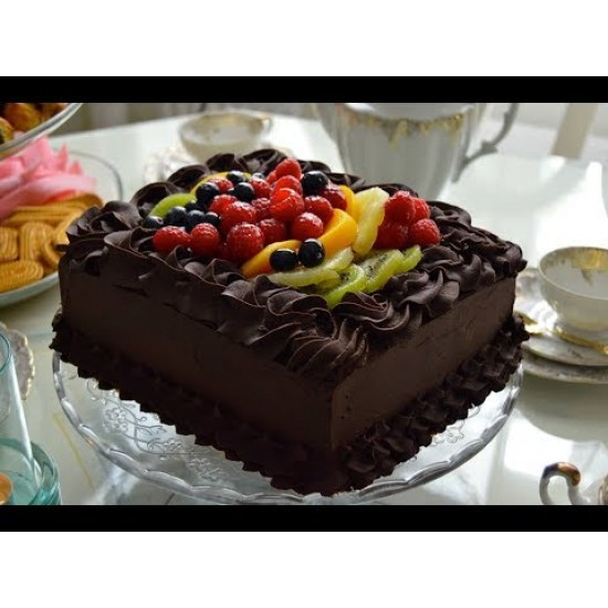 chocolate Fruit cake