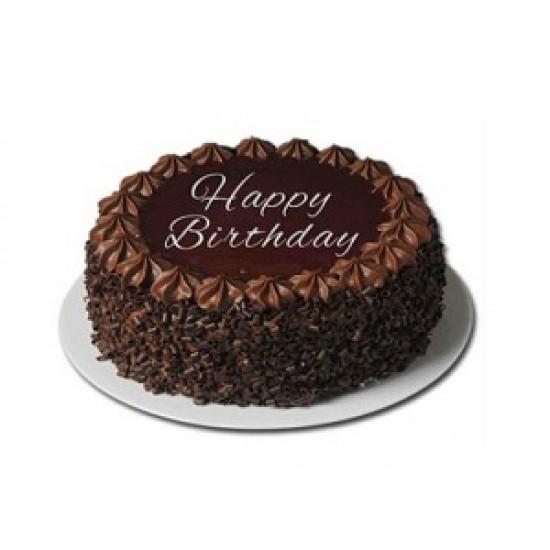 Chocolate truffle crunch 1/2 kg cake