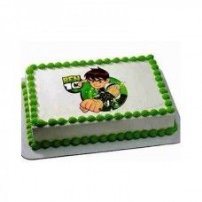 Ben 10 pineapple photo Cake
